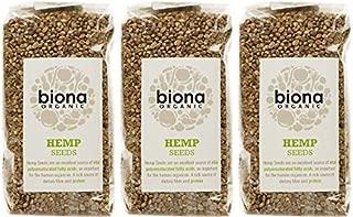 (3 PACK) - Biona - Org Hemp Seed | 250g | 3 PACK BUNDLE