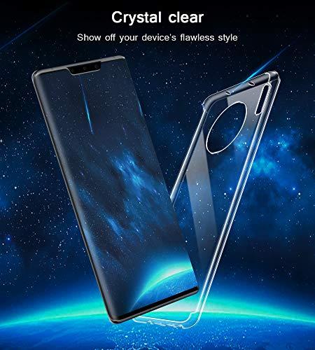 A-VIDET Hülle für Huawei Mate 30 Pro,Ultradünnes Silikon Softschale Rundumschutz Anti-Fall Gehäuse Einfache Rückenschutzhülle für Huawei Mate 30 Pro - 6