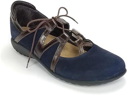 NAOT damen& 039;s TiMu Mary Janes, Blau, 39 EU, 8-8.5 US M