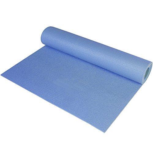 CAP Barbell HHYCF004B Fitness Yoga Mat Blue
