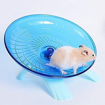 rueda de ejercicio rosa 18 x 18 x 11 cm Spinner silencioso SZMYLED Rueda de ejercicio de pl/ástico para animales peque/ños erizos peque/ños Disco antideslizante para h/ámsteres