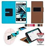 Hülle für Oppo Mirror 5s Tasche Cover Hülle Bumper   Braun   Testsieger