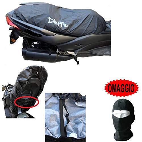 pour BMW R 45 Couverture DE Selle IMPERMÉABLE avec Doublure Housse Taille XL 130X72CM DIEFFE Universel en PVC Pluie Scooter Motocyclette