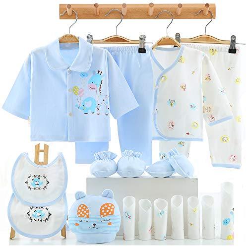 18 pieces newborn boy girl clothes set