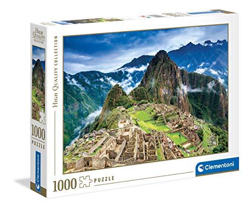 Clementoni Collection-Machu Picchu-Puzzle para Adultos 1000 Piezas, Fabricado en Italia, Multicolor, 39604