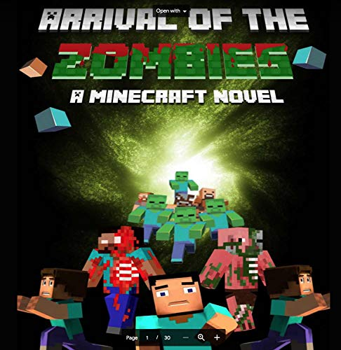 Arrival+of+The+Zombies: A Minecraft Novel (English Edition)