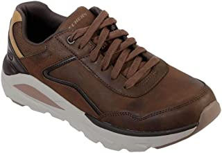 Skechers Men's Verrrado Crafton Oxfords Dark Brown
