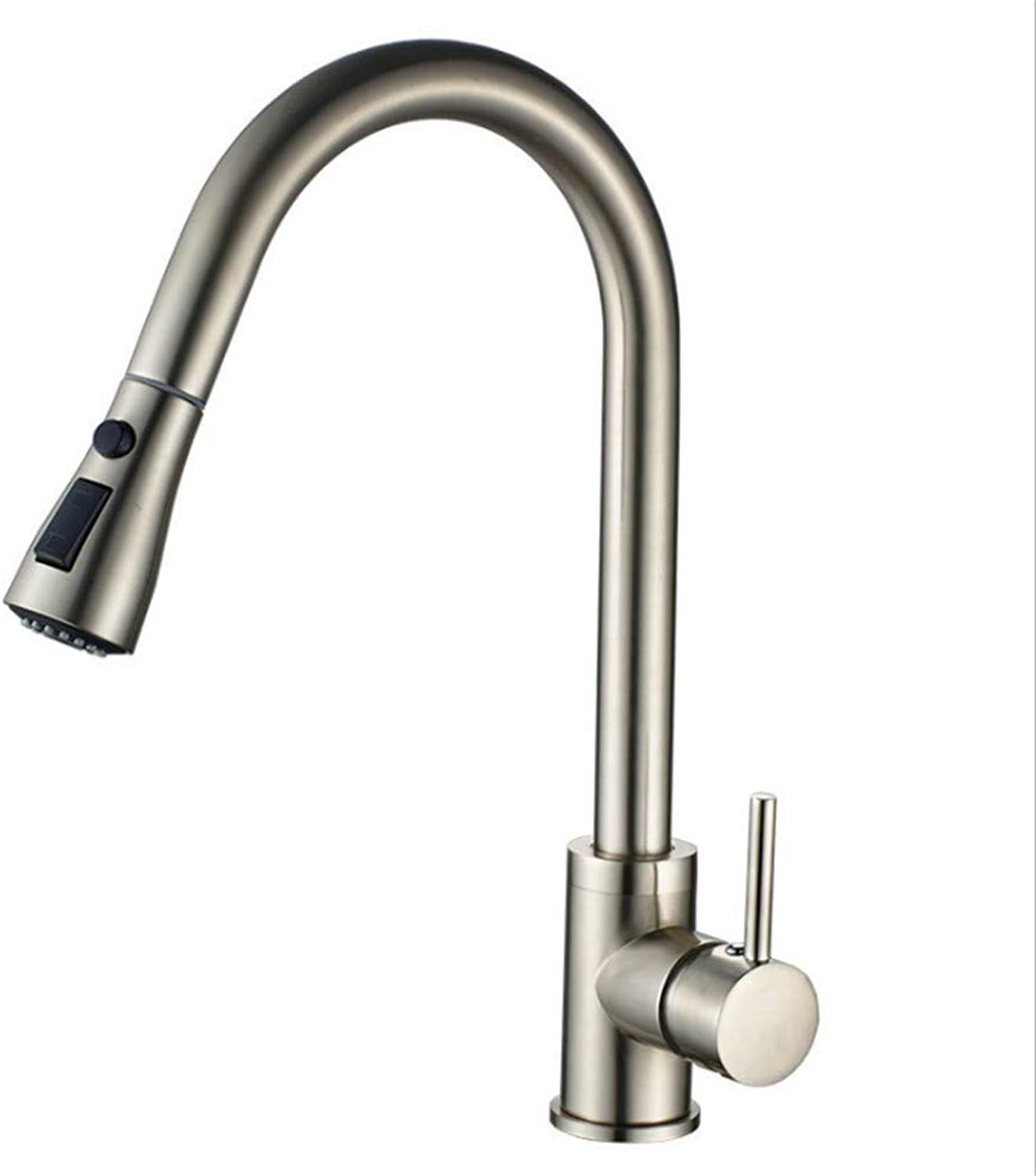 Kitchen Sink Taps Bathroom Taps Copper Kitchen Faucet Drawing Cold and Hot Water Washing Basin Flume Sitting redation
