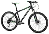 Mongoose Men's Tyax Expert 27.5' Wheel, Slate, 17.5 inch/Medium