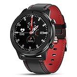 LXZ DT78 Fitness Fitness Activity Tracker Smart Watch Men's Wearable Bluetooth Bluetooth Monitor de Ritmo cardíaco Touch Completo Reloj Deportivo para Android iOS,E