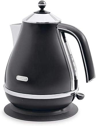 DeLonghi Icona, Electric Kettle 1.7L, KBO2001BK, Black