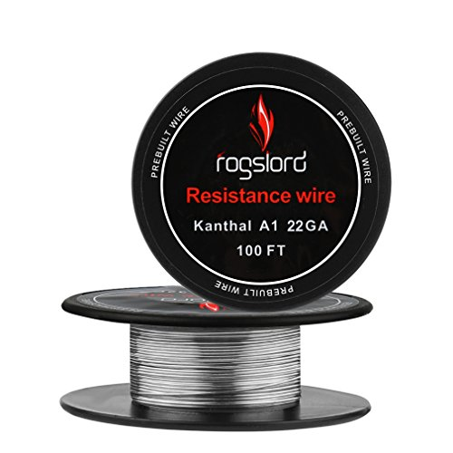Resistance Wire Kanthal A1-22 AWG Gauge Spools 100 Feet