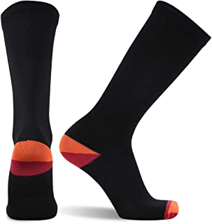 SuMade Athletic Compression Socks, Womens Mens Graduated 20-30mmHg Travel Running Cycling Recovery Socks 1 Pair