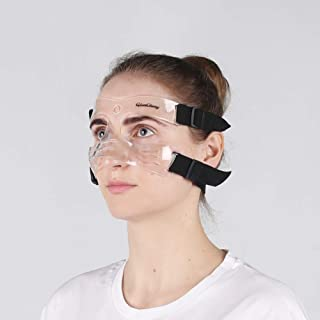 Qiancheng Nose Guard Face Shield, Protective Face Mask L5 Medium Size with Padding for Women and Teenagers, QC-L5-M