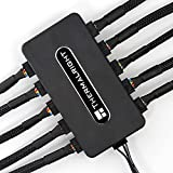 Thermalright Integrated PWM Fan Hub, 10-Port 4 Pin Fan Controller CPU Cooling...