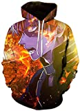 ZBYL 2020 New Hero Academia Sudadera con capucha My Hero Academia Season 5 con capucha 3D impreso sudadera...