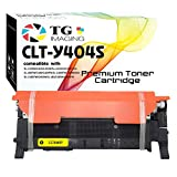 (1 Pack, Yellow) TG Imaging Compatible CLTY404S CLT-Y404S CLT-404S Toner Cartridge for Use in Samsung C430W C433W C480FW C480FN C480W C482FW C483W C483FW Printers