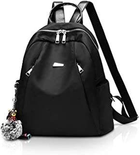XHHWZB Children's Backpack New Korean Version of The Tide Oxford Waterproof Backpack Bear Pendant Student Travel Backpack Soft Surface