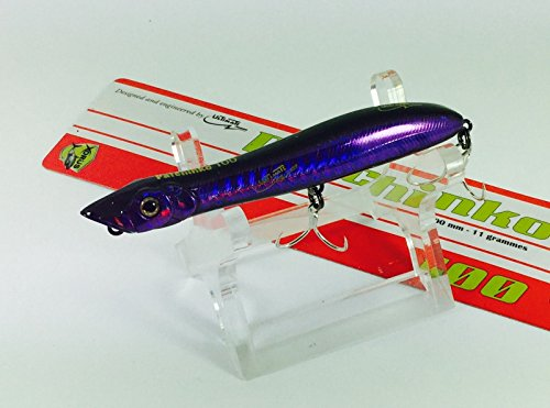 Mundo Ultimate Lubina Señuelos xorus patchinko 100, color dp Purple