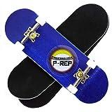 P-REP Starter Complete Wooden Fingerboard 30mm x 100mm (Blue)