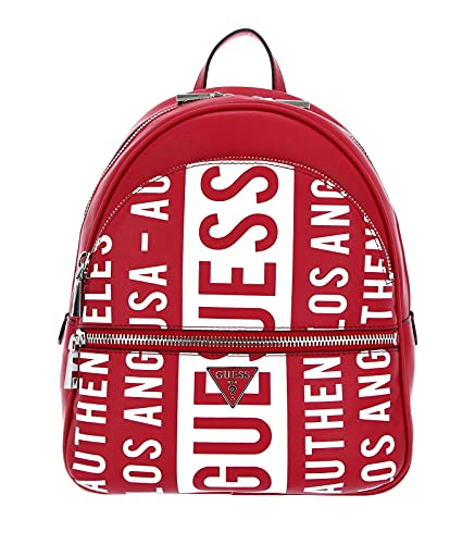 Guess Manhattan Large Backpack Red
