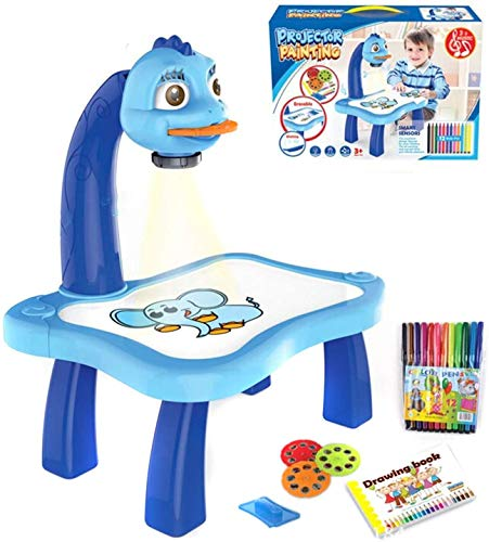 MOMSIV Trace and Draw Projector Toy,Art Projector, Kids Drawing Board Projector...