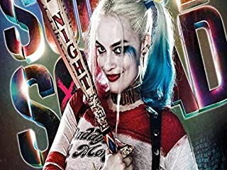 Harley Quinn Suicide Squad Edible Image Cake Topper Party Personalized 1/4 Sheet (1/4 icing sheet)