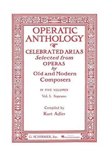 Operatic Anthology - Volume 1 - Offenbach: Elle a fui, la tourterelle (Les Contes D\'Hoffmann) &ndash - BOOK