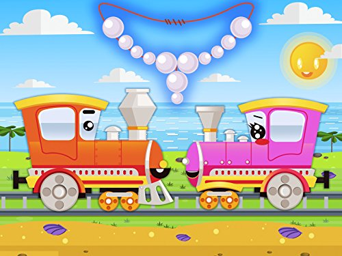 The Train makes a pearl necklace for his girlfriend