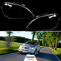 Headlight lens covers OEM (EU Quality) for Mercedes Benz ML W163 (1997-2005) - (Right)