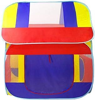 HO-TBO lektält, barnleksak barn stort hus spel leksak hus inomhus eller utomhus och lekleksakstält Game House present (fär...