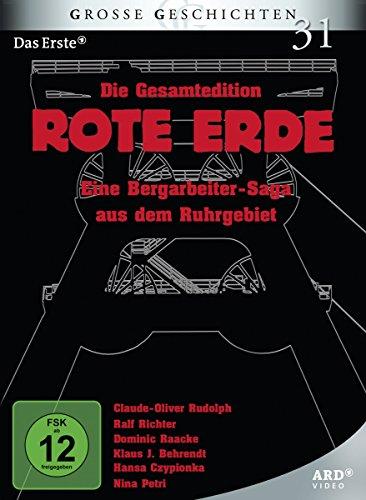 Rote Erde I + II: Die Bergarbeiter-Saga aus dem Ruhrgebiet (7 DVDs)
