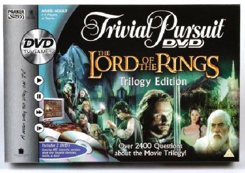 Hasbro - Gioco Dvd del Signore degli Anelli Trivial Pursuit