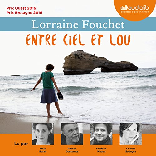 Entre ciel et Lou audiobook cover art