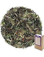 "Núm. 1104: Té blanco ""Pai Mu Tan mediterráneo"" - hojas sueltas - 100 g - GAIWAN® GERMANY - té blanco de China, cártamo (alazor), caléndula"