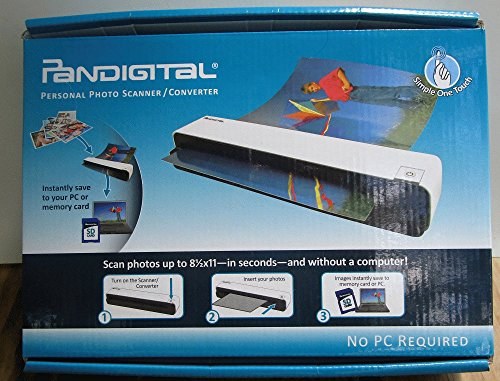 Pandigital Personal Photo Scanner/Converter, White (PANSCN06)
