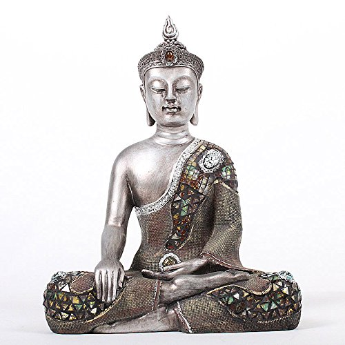 Deko Asien Garten Buddha Figur Statue Skulptur FENG Shui 40 cm Garten