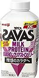 明治 ザバスミルクプロテイン 脂肪0 クリアストロベリー (SAVAS MILK PROTEIN)430ml×20本(クール便)