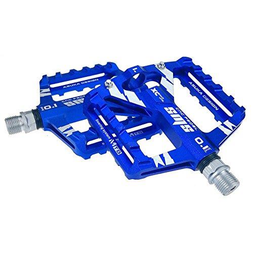 Pedali per bicicletta, in lega di alluminio, accessori per bicicletta Blu