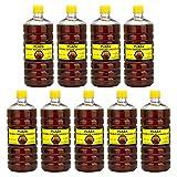PLAZA - Aceite de linaza doble hervida - 9 litro