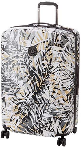 Kipling CURIOSITY L Bagaglio a mano, 79 cm, 123 Litri, Multicolore (Urban Palm)