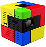SK UO Smart Beam, Portable Mini Projector, Compatible with iOS/Android (Art)