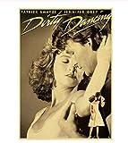 Klassischer Film Dirty Dancing Poster für Raumdekor