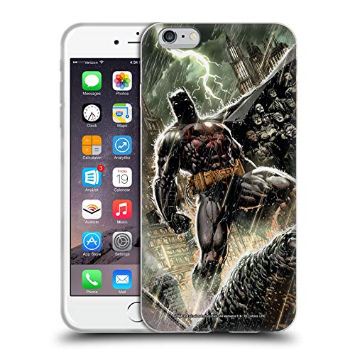 Head Case Designs Oficial Batman DC Comics Nueva Familia 52 Bat Disfraces icónicos Carcasa de Gel de Silicona Compatible con Apple iPhone 6 Plus/iPhone 6s Plus
