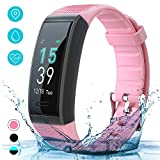 Fitness Tracker Watch with Heart Rate Monitor, AKASO Fitness Band, IP69 Waterproof Activity