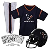 Franklin Sports Houston Texans Kids Football Uniform Set - NFL Youth Football Costume for Boys & Girls - Set Includes Helmet, Jersey & Pants - Small