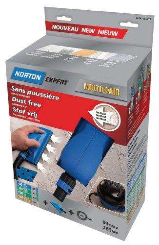 Norton Multi-Air - Kit de lijado (incluye lijadora manual, v