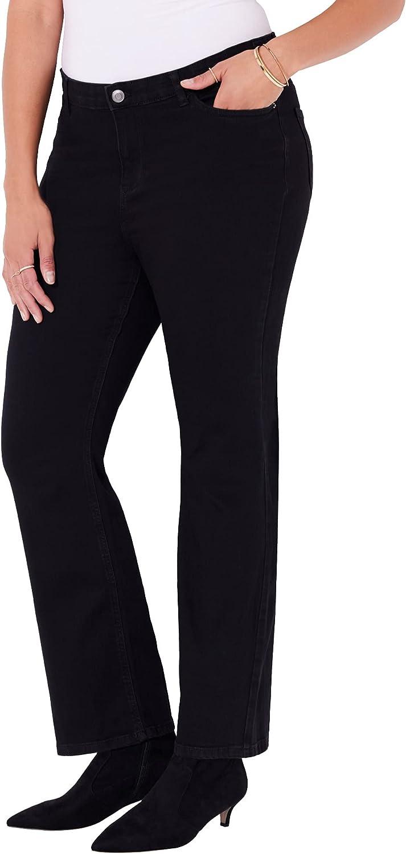 Catherines Women's Plus Size Universal Bootcut Jean