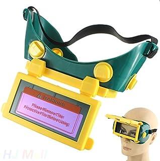 Tiptiper Máscara de la soldadura, oscurecimiento auto solar Protección del casco de la protección del