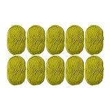 Knit Picks Brava Sport 100% Acrylic Yarn - 10 Skeins (Avocado)
